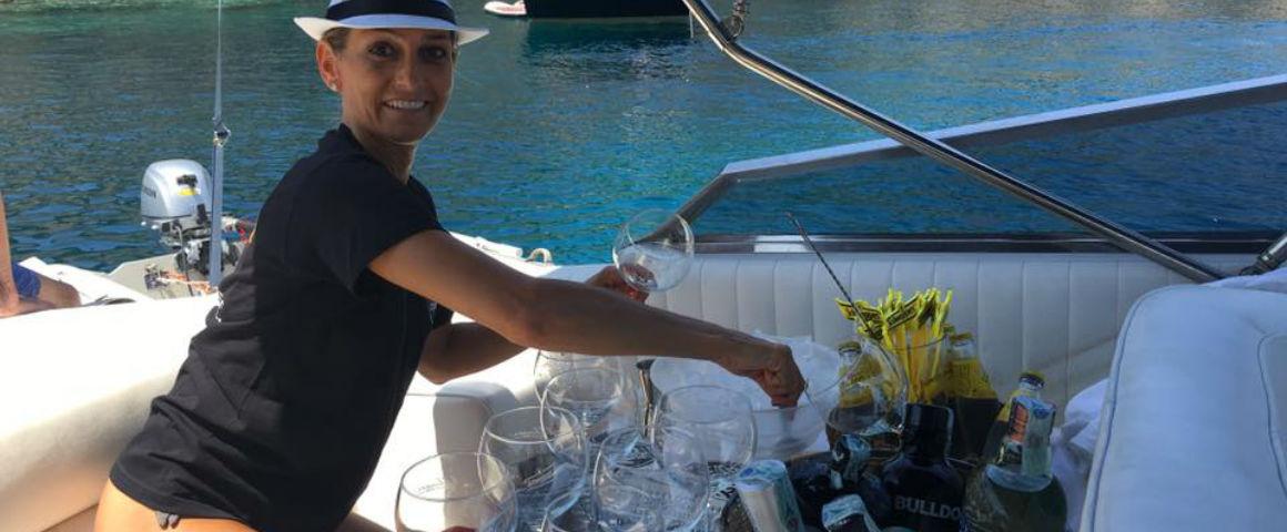 Gin Boat, gin tonic in mezzo al mare