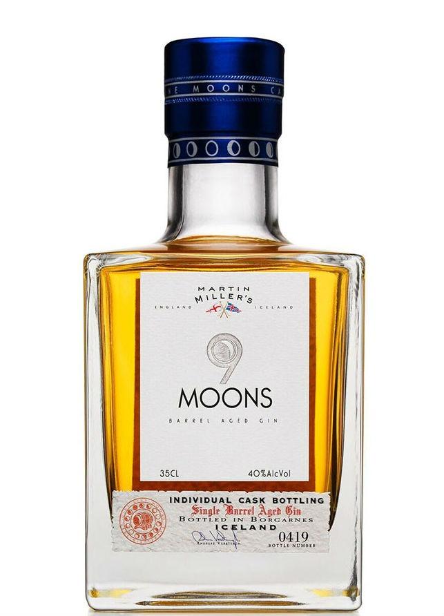 9 Moons Gin in un'immagine promozionale