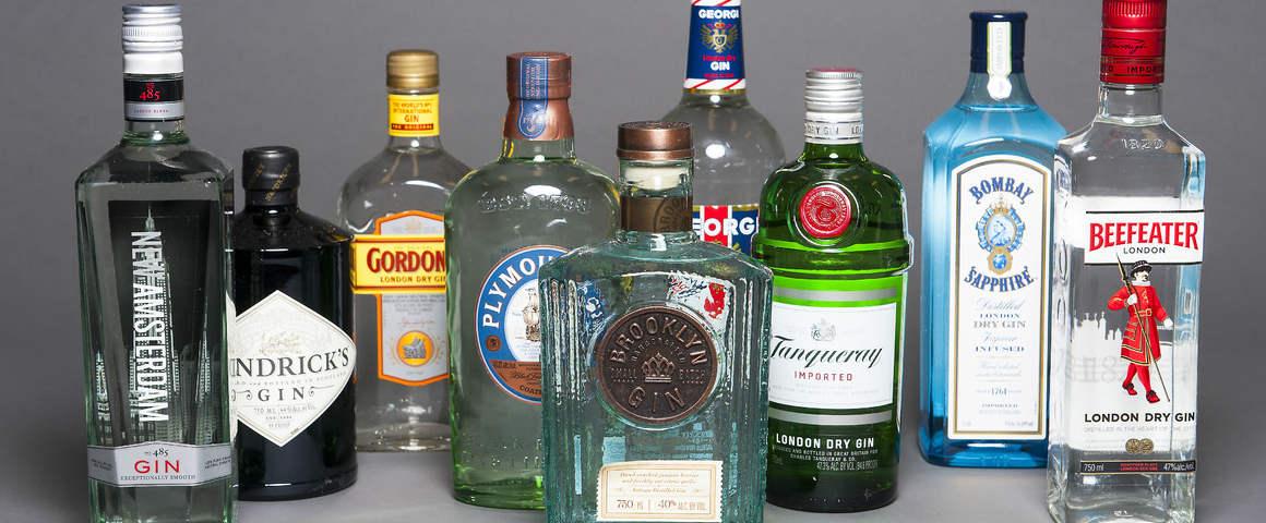 Gin più venduti al mondo: il riscatto dei grandi brand