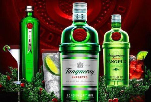Gamma Tanqueray in un'immagine pubblicitaria