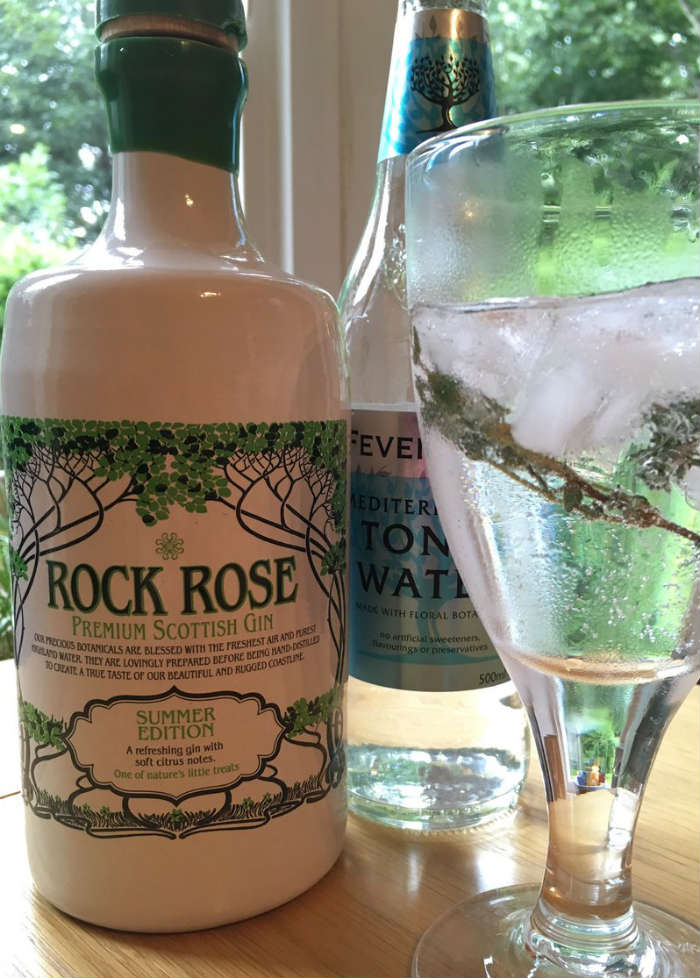 Rock Rose Gin Summer Edition