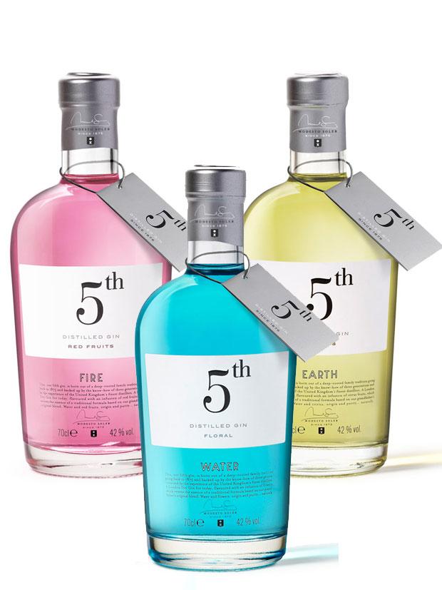 5th Gin Bottiglia