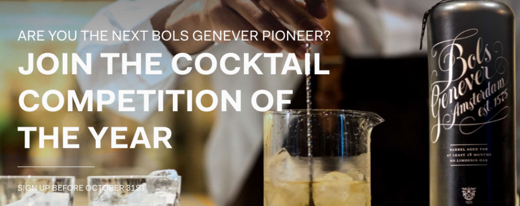 Bols Around The World: sarai tu il prossimo pioniere di Bols Genever?