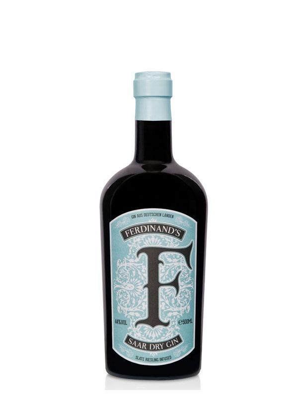 Ferdinand's Saar Dry Gin Bottiglia