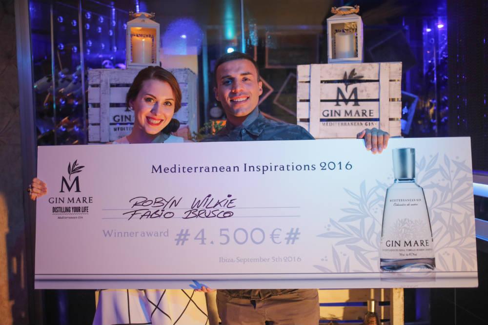 Robyn Wilkie e Fabio Brusco, i vincitori di Mediterranean Inspirations 2016