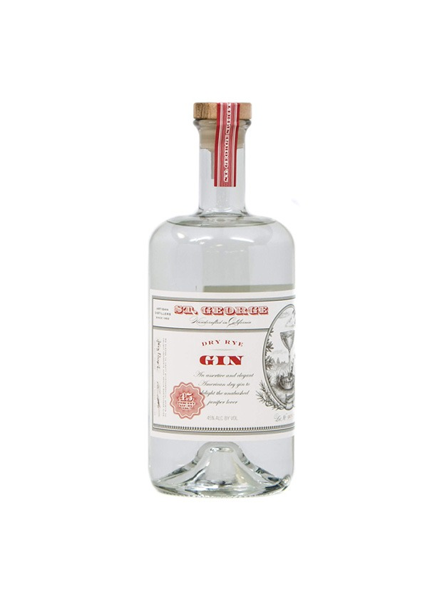 Recensione St. George Dry Rye Gin