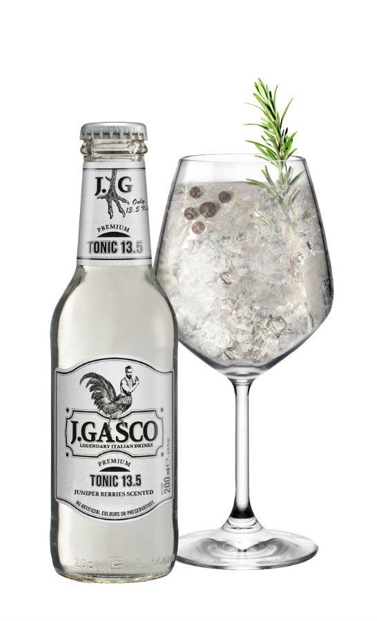 Tonic 13.5 J.Gasco perfect serve: Juniper Gasco