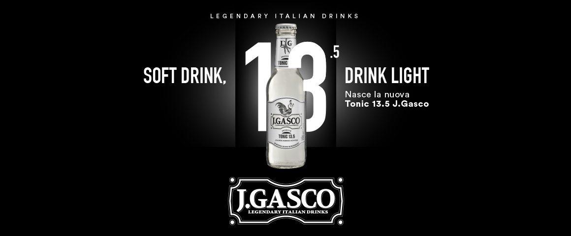 Tonic 13.5 J.Gasco, una leggenda con poche calorie