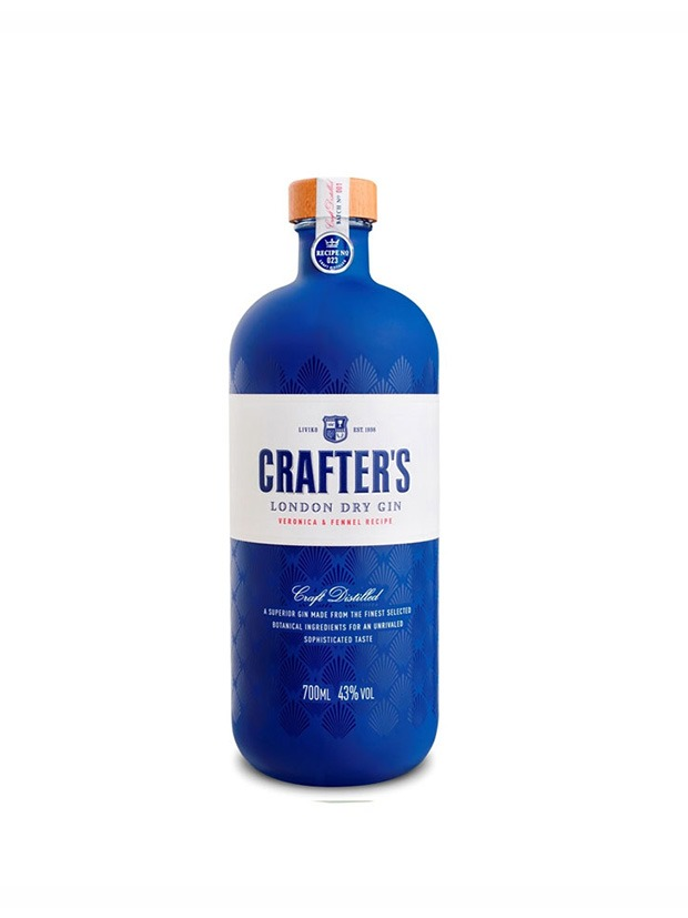 Crafters London Dry Gin Bottiglia