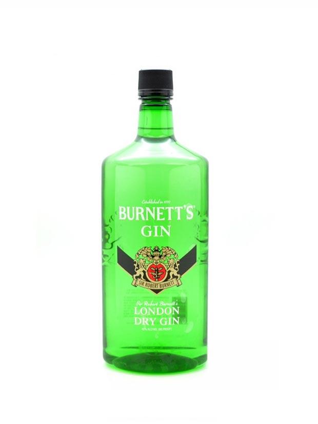 Recensione Burnett's Gin