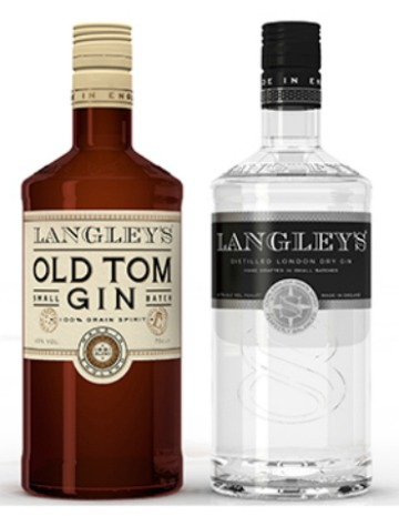 Langley's Old Ton Gin e Langley's classico