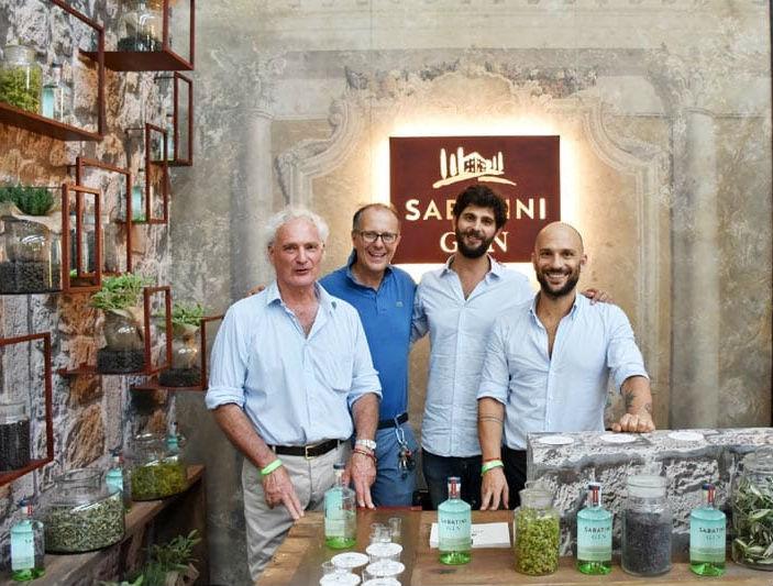 La famiglia Sabatini al Gin Day 2016