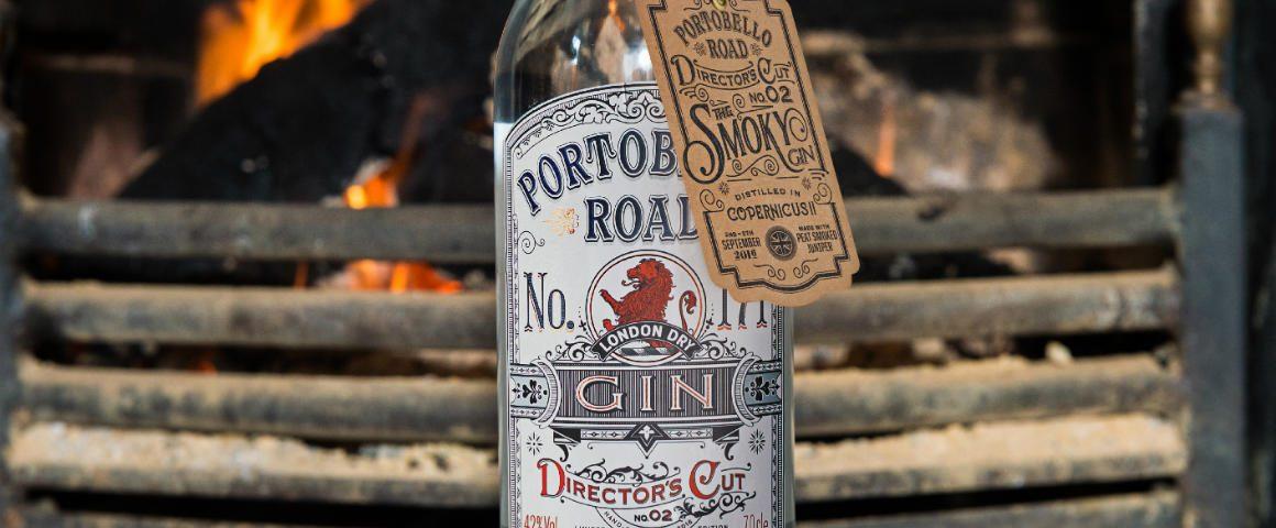 Portobello Road Gin Director's Cut: Smoky Gin con ginepro torbato