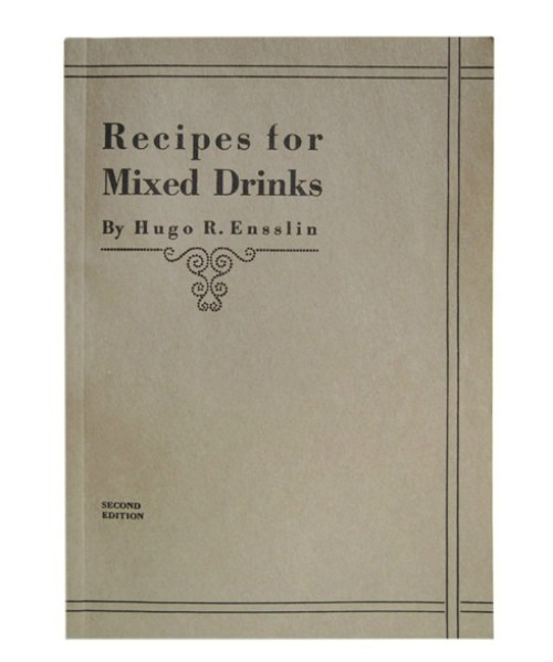 La copertina di Recipes for Mixed Drinks