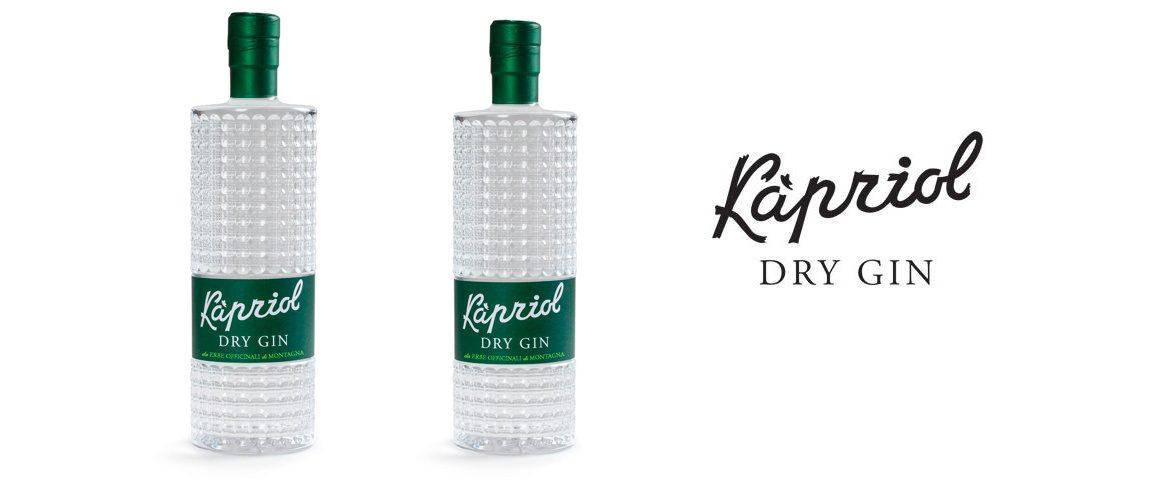Kapriol Dry Gin: la liquoristica italiana incontra il gin