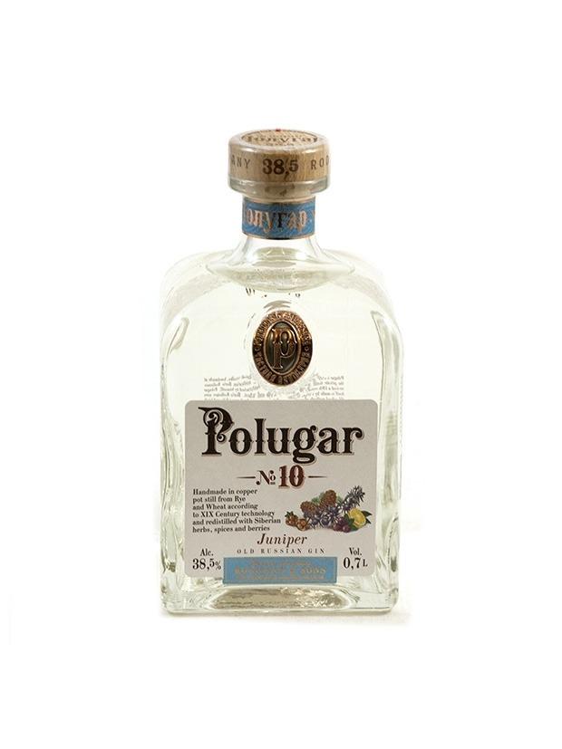 Recensione Polugar N.10 Juniper – Old Russian Gin