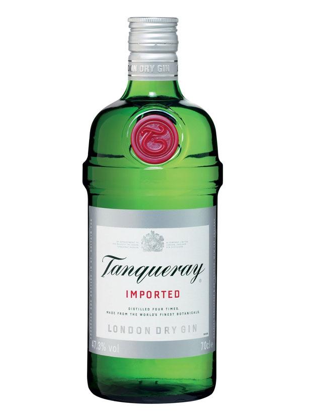 Tanqueray London Dry Gin Bottiglia