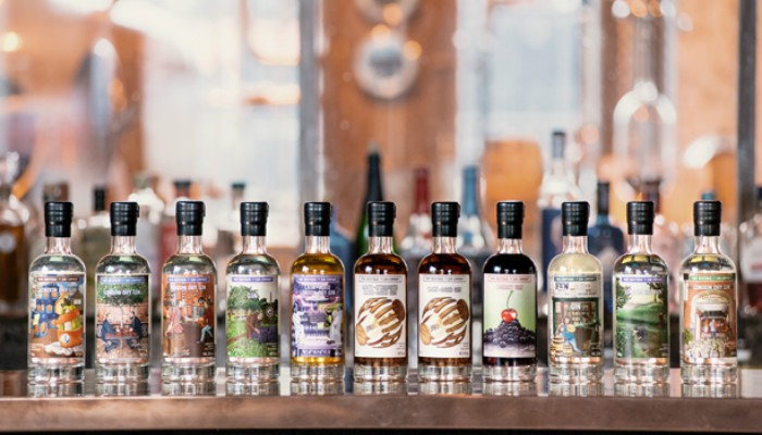 Le prme 11 edizioni limitate di The Boutique-y Gin Company