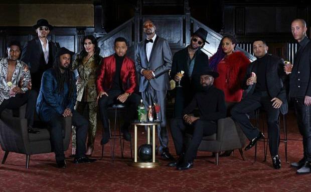 """""""The Tanqueray Ten"""" con Snoop Dogg al centro"""
