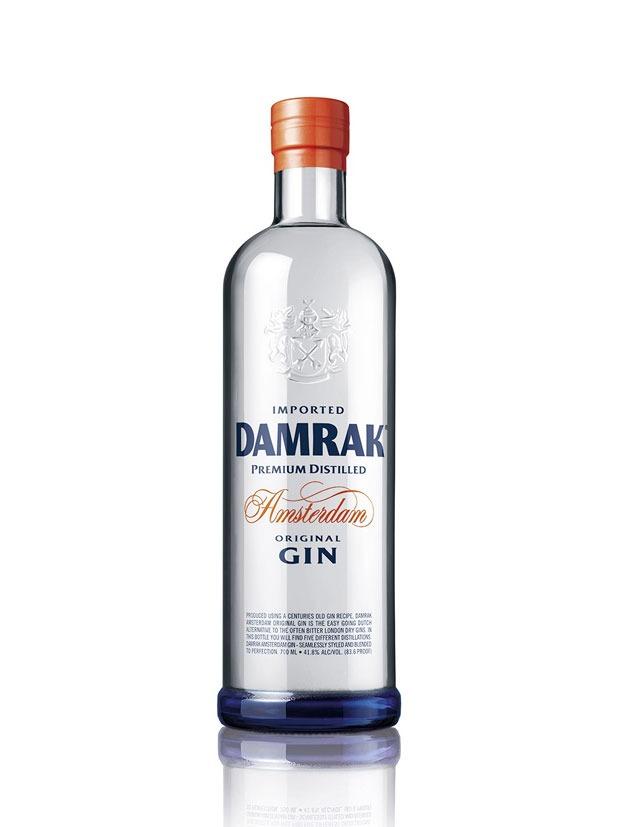 Damrak Gin Bottiglia