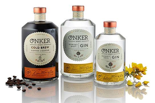 La gamma Conker Gin