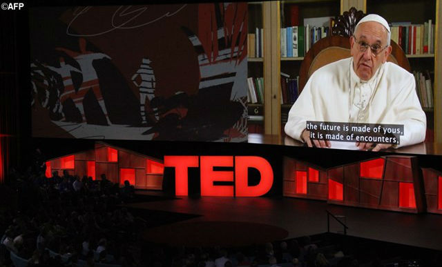Il Papa a TED2017