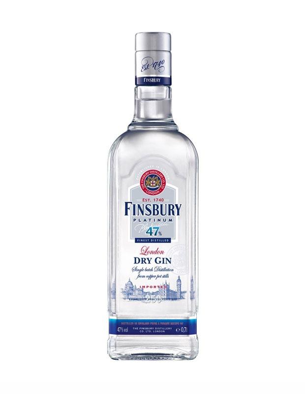 Recensione Finsbury Platinum Gin 47%