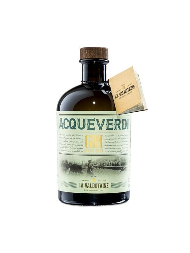 Review Acqueverdi Gin delle Alpi