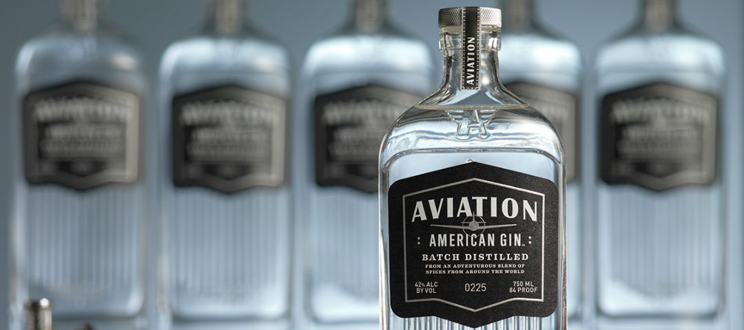 aviation gin pubblicità oddbins