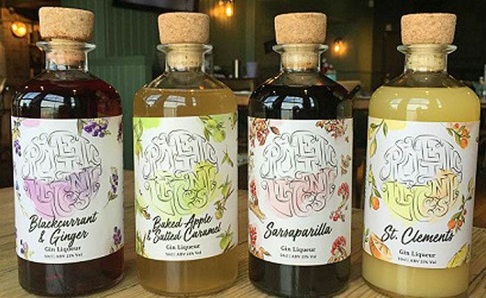 Poetic License Gin Liqueurs