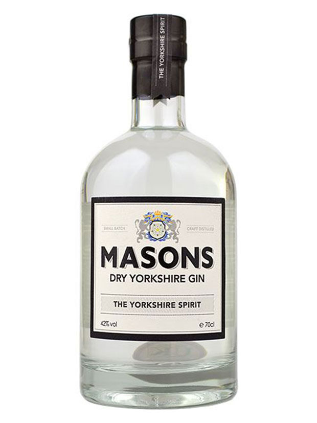 Recensione Masons Dry Yorkshire Gin