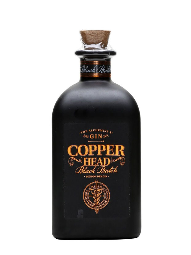 Recensione Copperhead Gin Black Batch