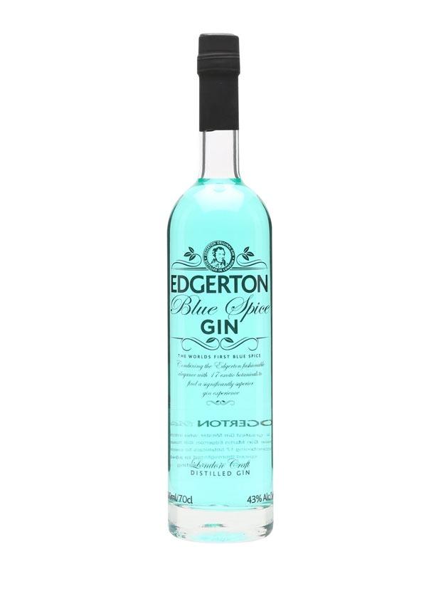Recensione Edgerton Blue Spice gin