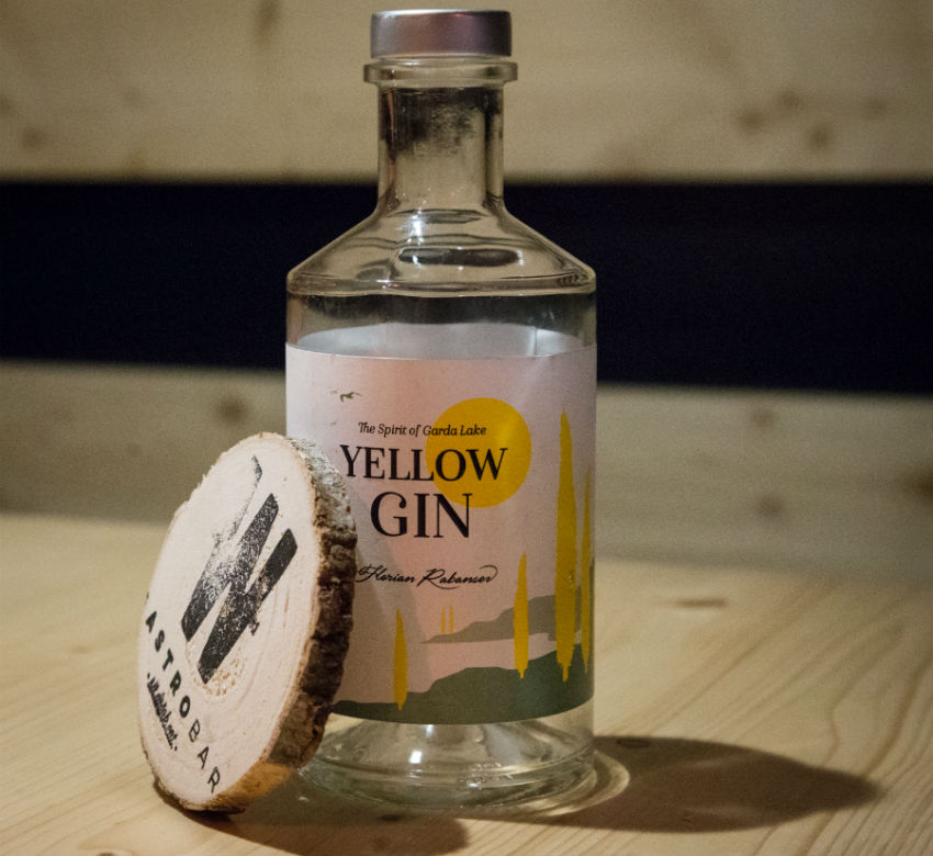 yellow gin