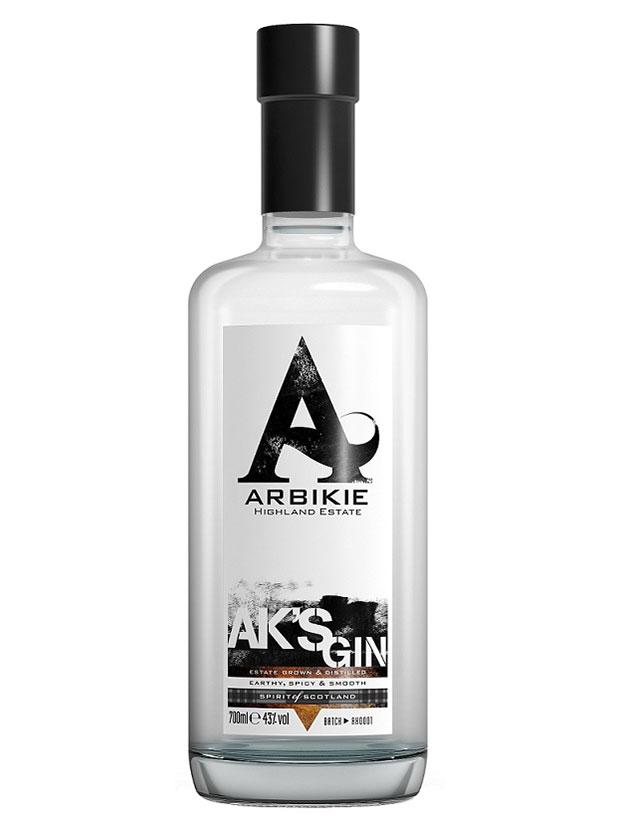 Recensione Arbikie AK's Gin