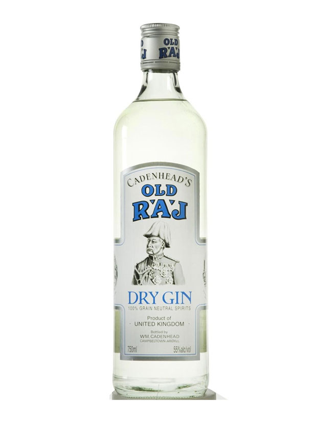 Recensione Cadenhead's Old Raj Dry Gin Blue Label