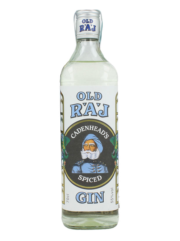 Recensione Cadenhead's Old Raj Spiced Gin Blue Label 55%