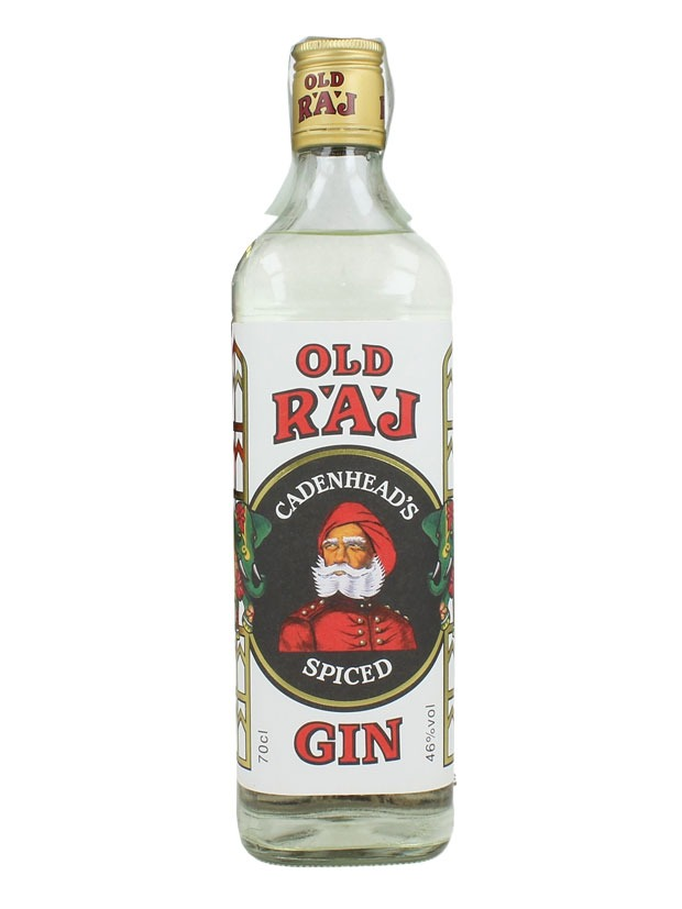 Recensione Cadenhead's Old Raj Spiced Gin Red Label 46%
