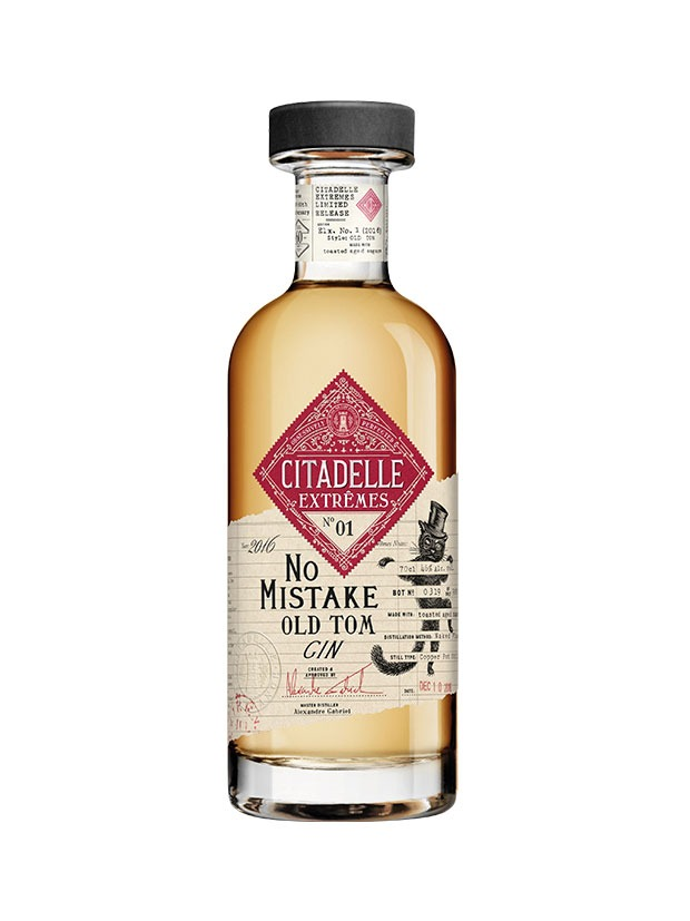 Recensione Citadelle Extremes No.1 No Mistake Old Tom Gin