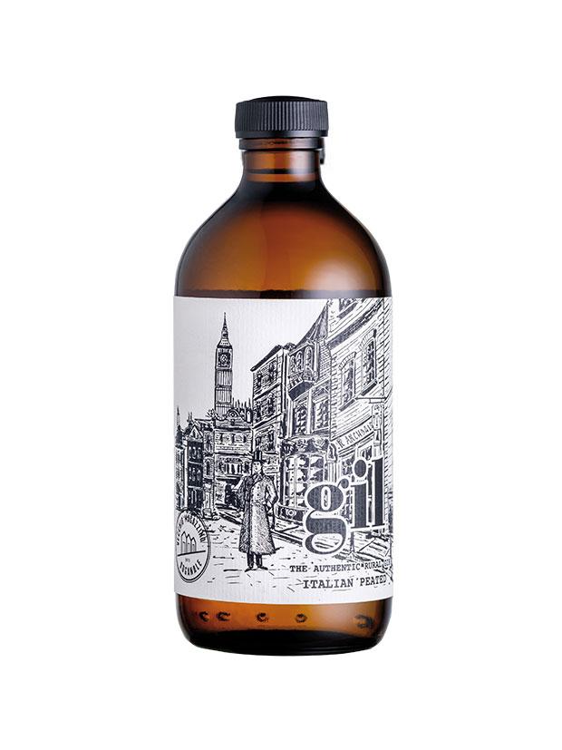 Gil-peated-gin-bottiglia
