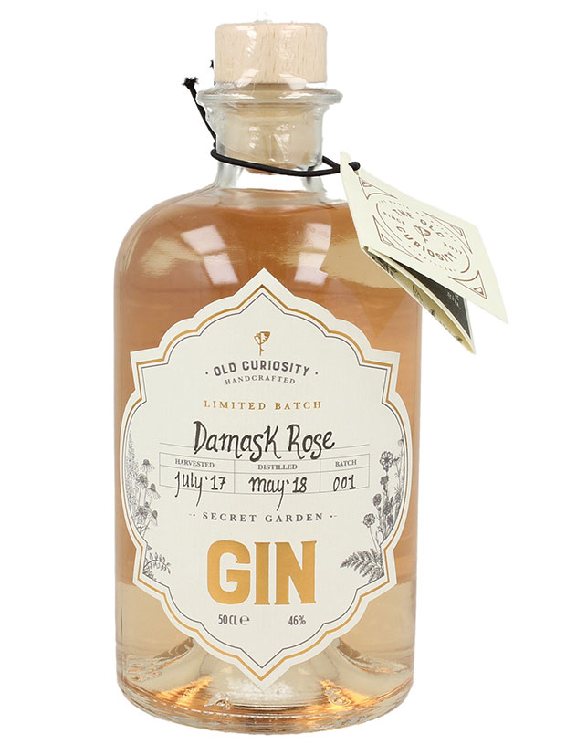 Recensione Old Curiosity Damask Rose Secret Garden Gin