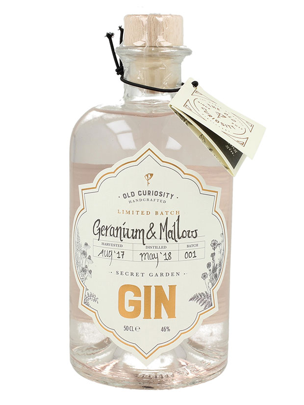 Recensione Old Curiosity Geranium & Mallow Secret Garden Gin