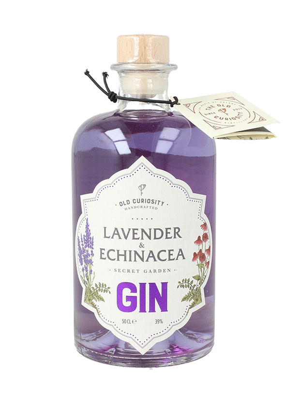 Recensione Old Curiosity Lavender & Echinacea Secret Garden Gin