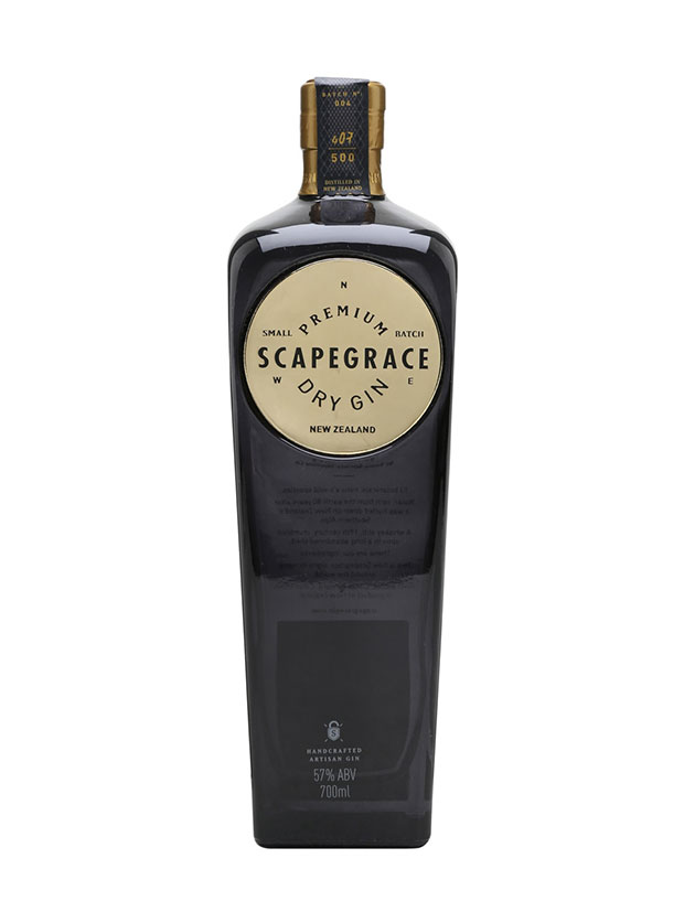Recensione Scapegrace Gold Dry Gin
