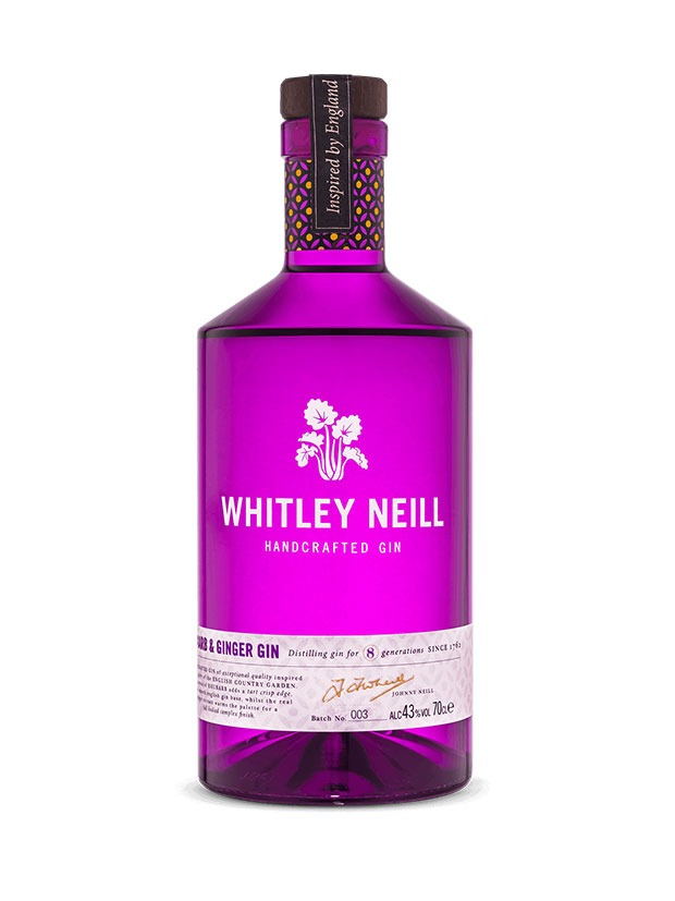 Recensione Whitley Neill Rhubarb & Ginger Gin