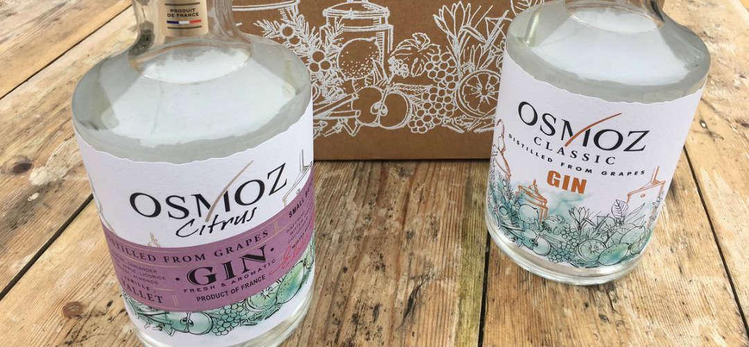 Osmoz Classic Gin e Osmoz Citrus Gin: il cuore del Cognac nel gin