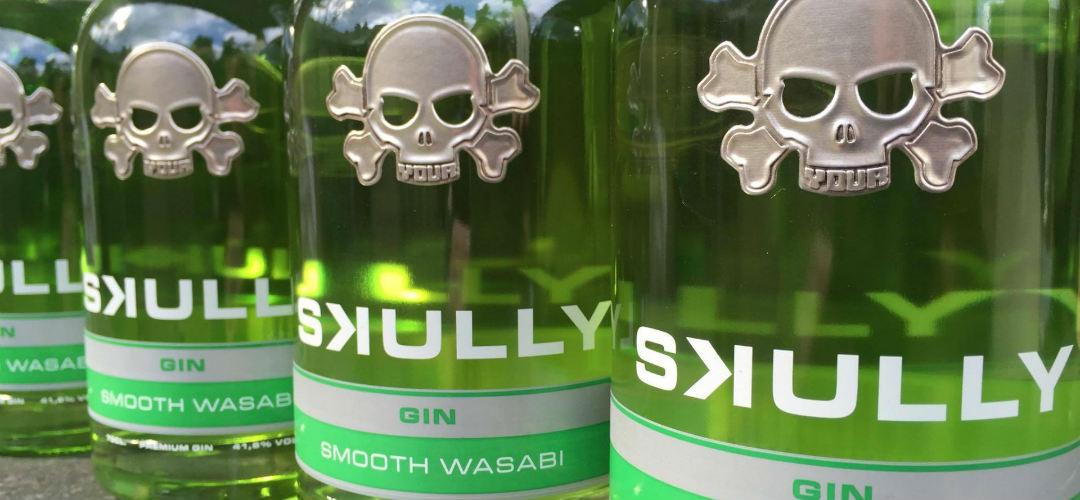 Skully Smooth Wasabi Gin: il Giappone da bere