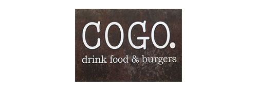Cogo. Drink, Food & Burgers