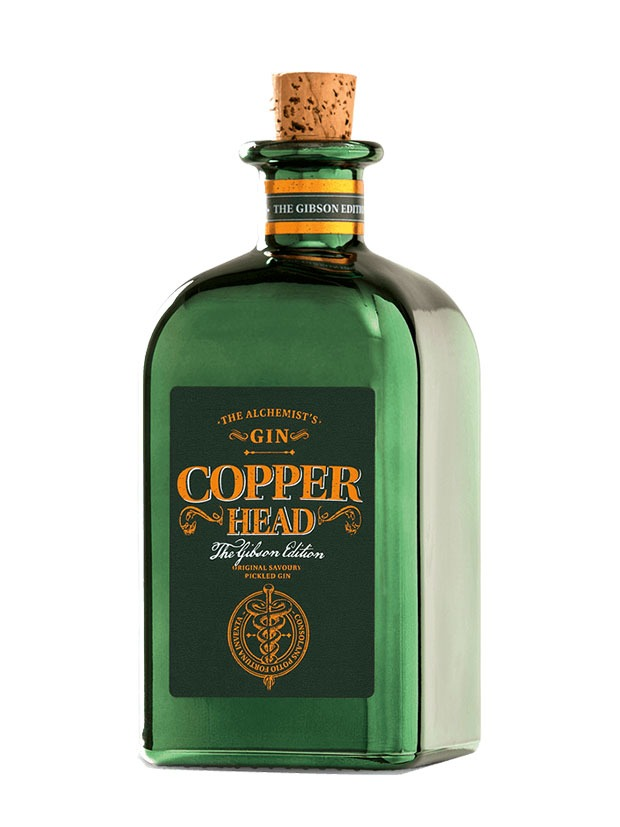 Recensione Copperhead Gin The Gibson Edition