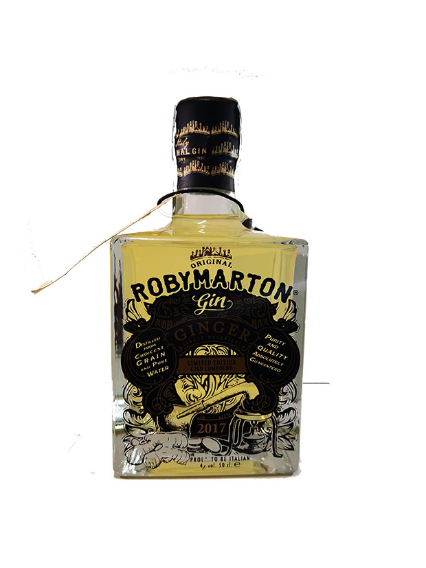 Recensione Roby Marton Gin Ginger Single Botanical